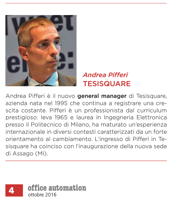 Office Automation 10/16 Andrea Pifferi